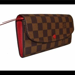 Louis Vuitton Emilie Damier Ebene Wallet